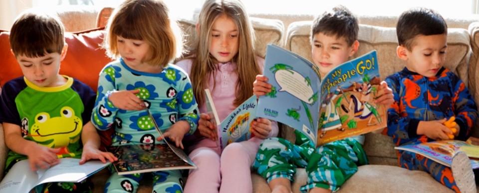PJ Library kids